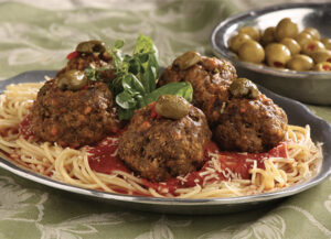 Grammie Irene's Surprise Meatballs
