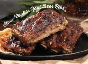 Slow Cooker Root Beer Ribs