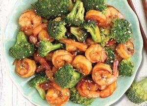Asian Shrimp and Broccoli