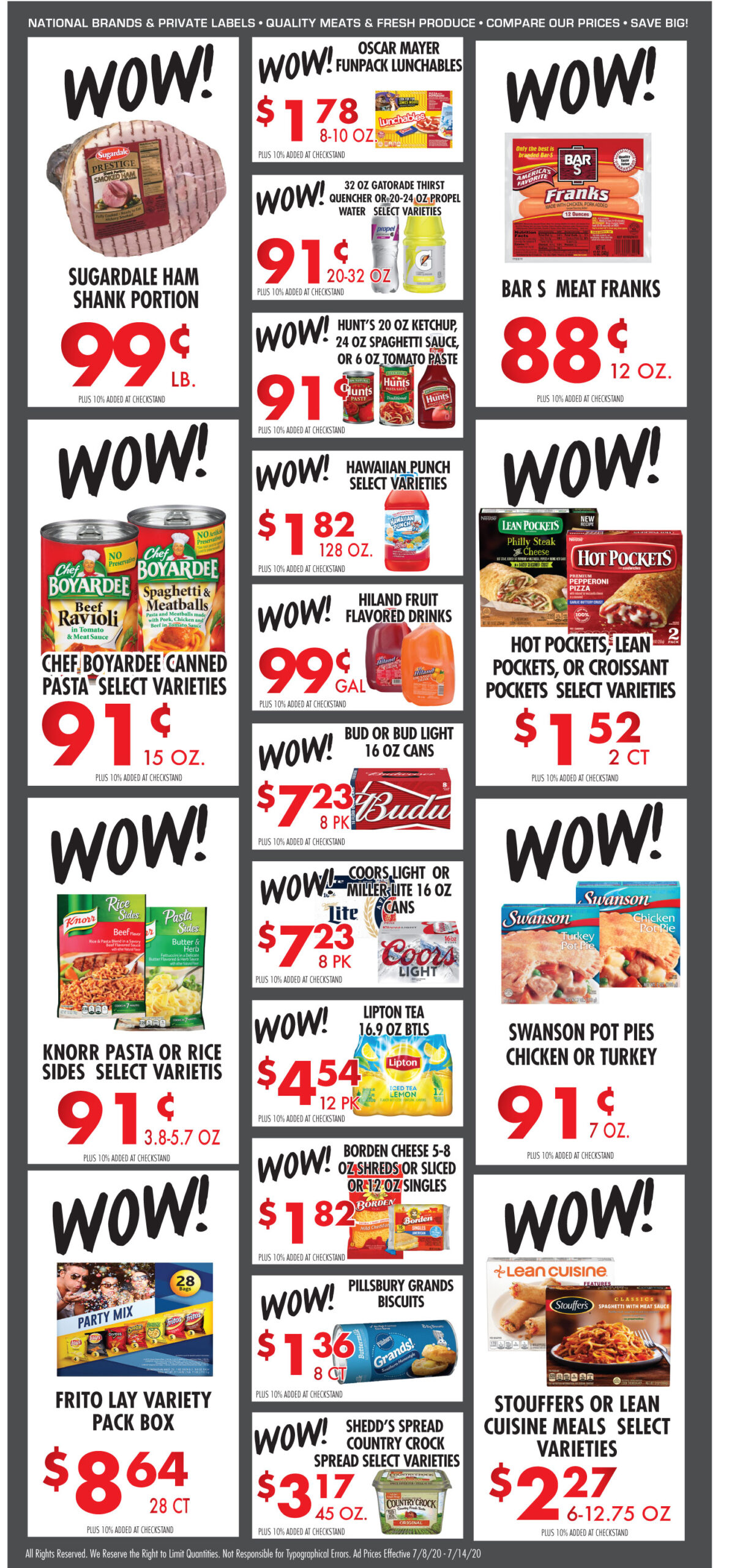 Cox Cash Saver specials for week of 7-8-20
