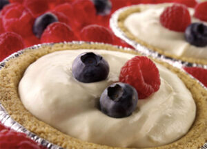 Berry Lemon Cream Tarts